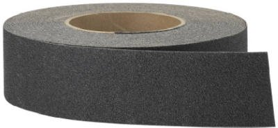 3m Safety Walk Anti Slip Tape 2'' X 60ft. Black for Steps, Ladders and Ramps Wood