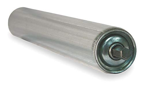 Replacement Conveyor Rollers (Ashland Conveyor Galv Replacement Roller, 1.9In Dia, 48BF - KG48)
