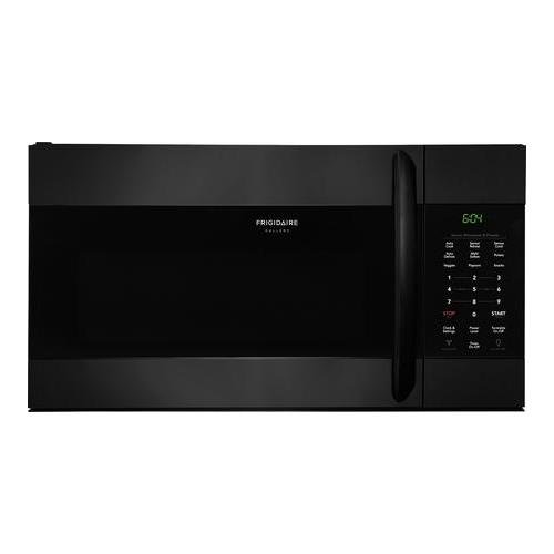 Frigidaire FGMV176NTB Gallery Series 30 Inch Over the Range Microwave Oven with 1.7 cu. ft. Capacity, 1000 Cooking Watts in Black