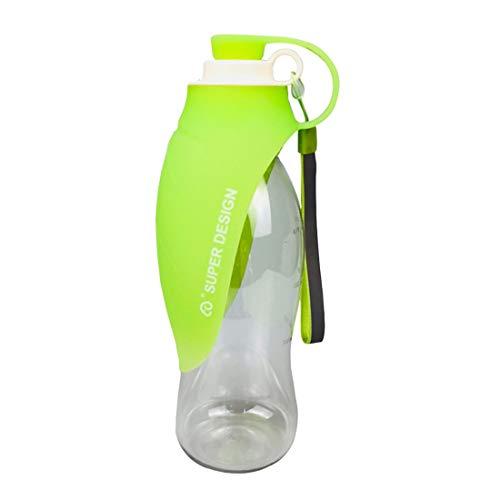 Ushero Pet Water Bottle Portable Leak Proof Foldable Silicone Dog Drinking Feeder Water Dispenser for Pets Outdoor Walking, Higking, Travel by Ushero