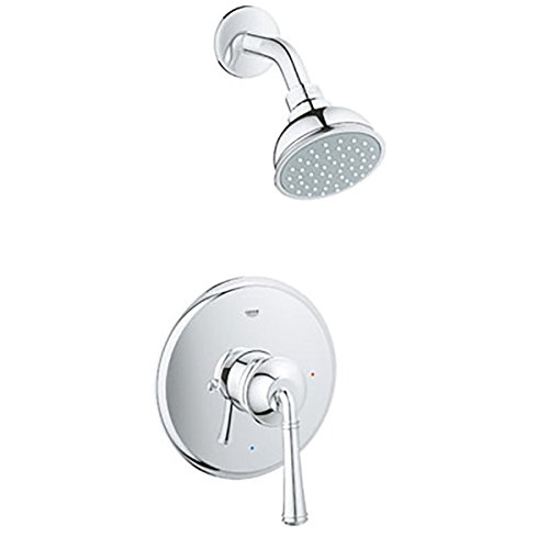 GROHE Gloucester Chrome 1 Handle WaterSense Bathtub Shower - Gloucester Outlet