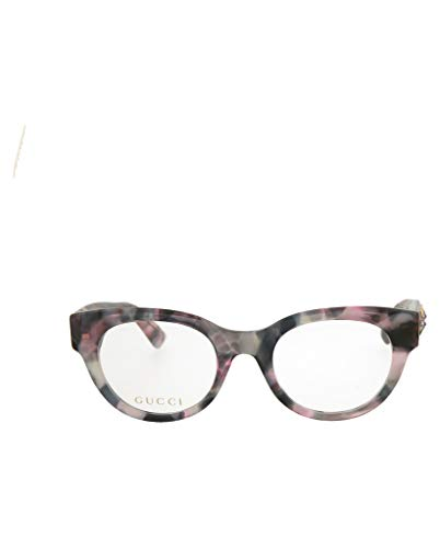 Gucci GG 0209O 003 Pink/Grey Havana Plastic Fashion Eyeglasses 48mm