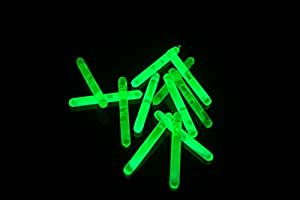 "1.5"" inch Green Mini Glow Sticks- 24 pack"