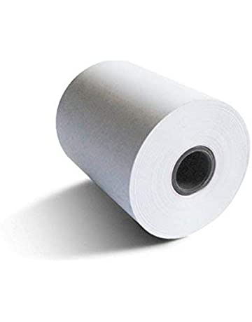8 rollos de papel termico 80x80x12 para tpv, registradora, impresoras de ticket epson compatibles