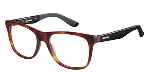 Carrera 8814 Eyeglass Frames CA8814-06VL-5318 - Havana Matte Black Frame Lens Diameter 53mm