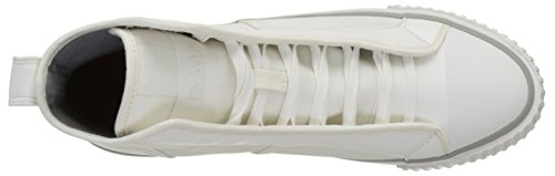 G Men's Hi Top Sneaker Raw Fashion Scuba Star White rETzqpr