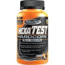Muscletech Hexatest 168 Amplificateur testostérone Caps