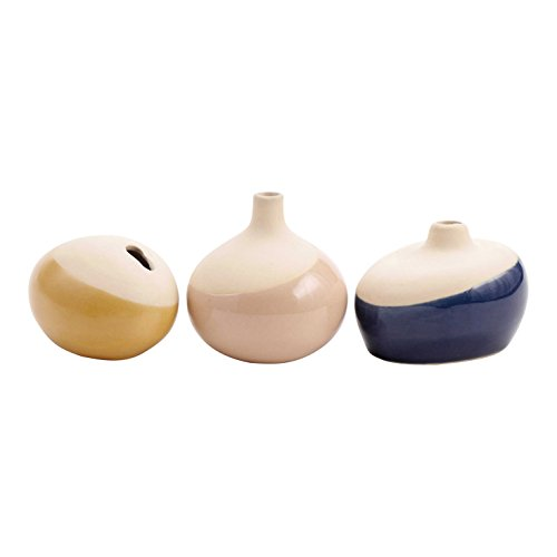 FLOOR | 9 Dipped Mini Bud Vase, Assorted Set of 3