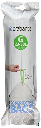 Brabantia SmartFix - Müllbeutel (20 Stück à 30 Liter)