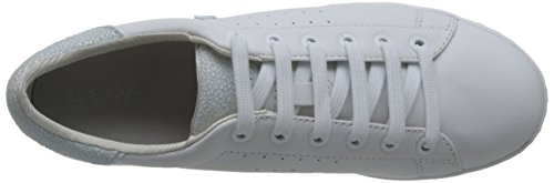 Blanc D Geox Basses Jaysen Baskets White A Femme nYnzqpTw