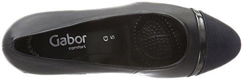 Gabor Shoes Comfort Fashion 52.162, Zapatos de Tacón para Mujer Multicolor (river/Ocean/Steel 86)