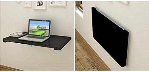 TXX Mesa creativa Paredes de consola doble Mesa plegable de madera ...