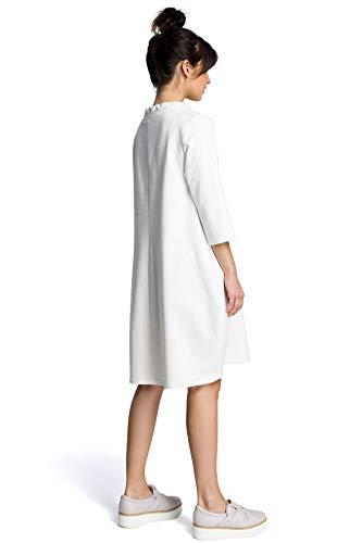 am Einer Hals Bindung Ecru Kleid mit Clea 1UWqnIRw