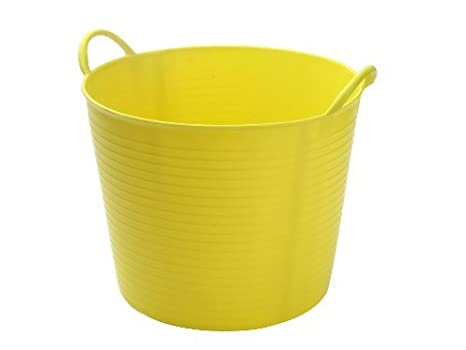 Faithfull Polyethylene Flex Tub 60L Yellow FAIFLEX60Y