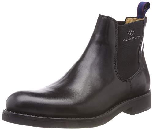 Oscar Gant Chelsea Noir Boots G00 Homme black BxUR4qpn