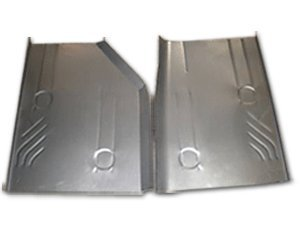1984-96 Jeep Cherokee, Wagoneer & Comanche Rear Floor Pans (Pair) by Classic 2 Current Fabrication