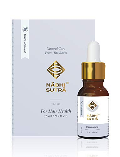 Nabhi Sutra Hair Growth Support Oil & Healthy Hair – Belly Button Oil -15 ML(Apply on your Belly Button)