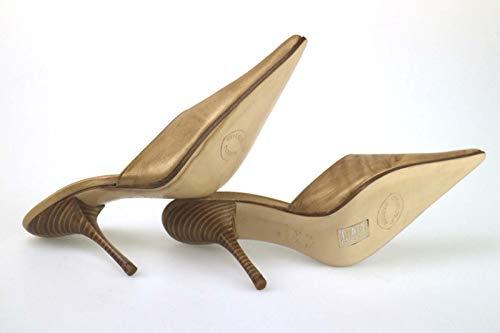 Cuir Eu 36 Passeri Bronze Escarpins Femme Emanuela qtf11