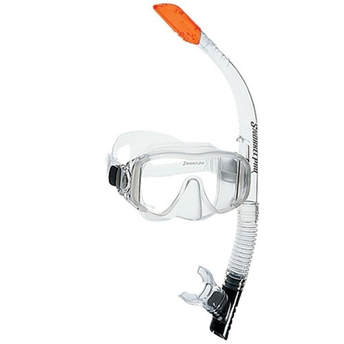 ScubaPro Trinidad Adult Combo Mask and Snorkel Set-Clear
