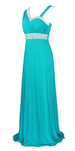 Licoco Women Sleeveless Beaded Semi-Formal Long Maxi Evening Gown Wedding Dress (Turquoise 37, XXL)]()