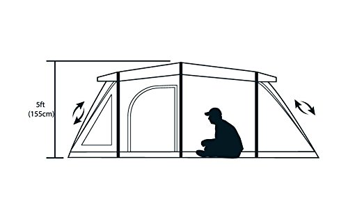 3 Man Inflatable Grey/Silver Extreme Air Tent with Qwik Frame ...