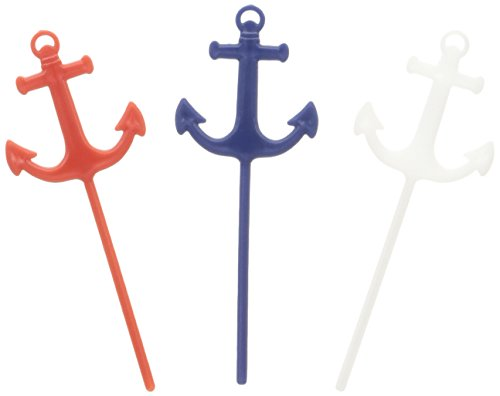 Anchor Nautical Theme Food Picks