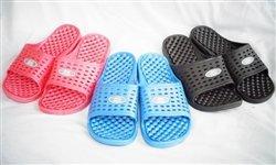 d19ba1c87286 Anti-Slip Women s Shower Sandal (The Original Drainage Hole Sandal) - Black  (