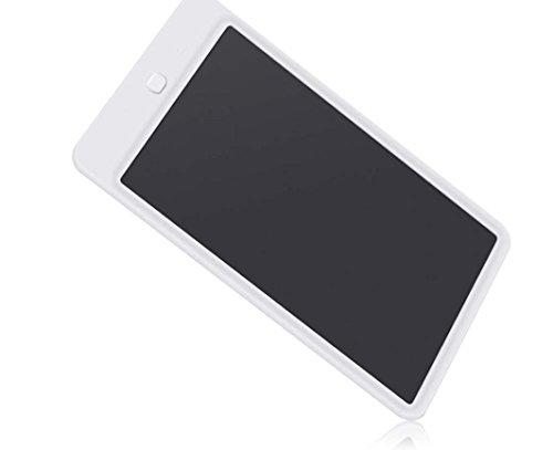 Kids Boogie Board Desk (Fiaya Kids 10Inch LCD Drawing Board Writing Tablet Pad For Office Memo Home Message (white))