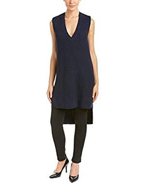 Bcbgmaxazria Simonette Wool-Blend Sweater Vest