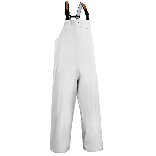 - Clipper Men's Bib Pant, White, Medium