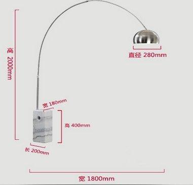 CU@EY Moderne 1-Licht ,H230cm Stehleuchte