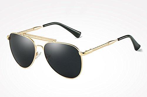 Sunglasses plata masculina alta sol Mujer azul Guía ACCESORIOS sol calidad con gold TL Hombre UV400 gafas de para Gafas black de Gafas gray polarizados dqRAwSXva