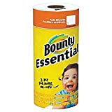 Bounty Essentials 2-Ply Paper Towels, 11in. x 10 1/4in, White, 40 Sheets per Roll, Carton of 30 Rolls