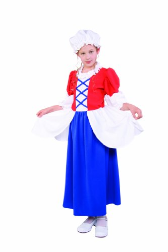 RG Costumes Betsy Ross Costume, Child Large/Size 12-14 ()