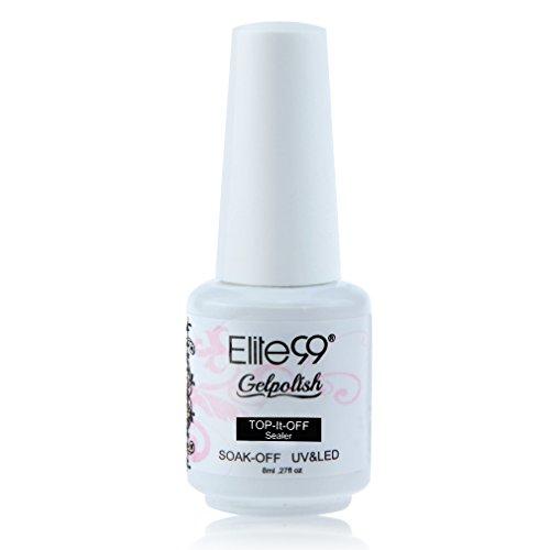 Elite99 Gelpolish Top Coat Soak Off UV LED Gel Nail Polish Manicure 8ml