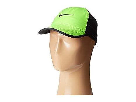 Nike U Nk Arobill Fthrlt Gorra de Tenis, Mujer, Verde (Electric ...