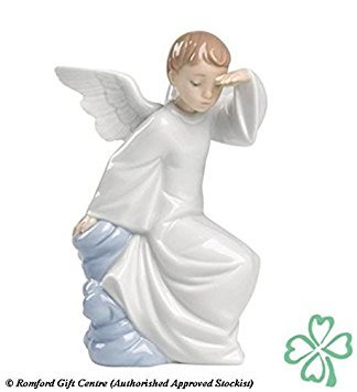 Gifts Lladro - Nao Porcelain by Lladro WATCHING OVER YOU ( GUARDIAN ANGEL ) 2001597