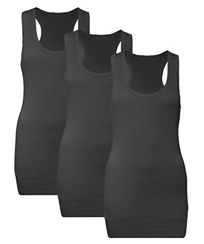 Muse - Camiseta sin mangas - para mujer 3X Schwarz