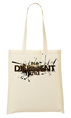 In A Different Style Crash Series Weird Original Genuine Artistic Bolso De Mano Bolsa De La Compra