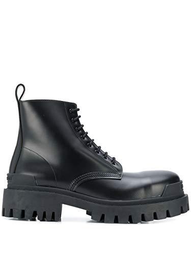 Balenciaga Luxury Fashion Mens 589338WA9601000 Black Ankle Boots   Fall Winter 19