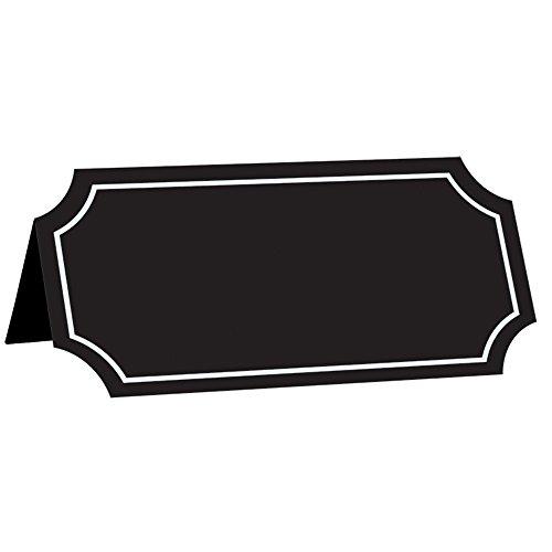 Amscan 340179 - Cartulina para tienda de campaña (10,16 x 5,08 cm), multicolor