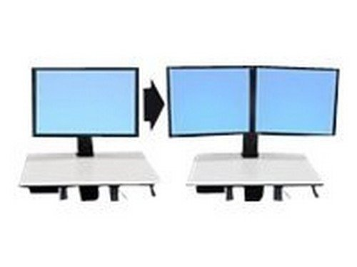 ergotron-workfit-c-convert-to-dual-kit-from-single-hd-display-mounting-component