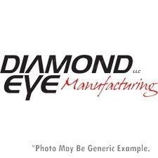 Muffler Pipe Duramax Delete - Diamond Eye 400036 Straight Pipe
