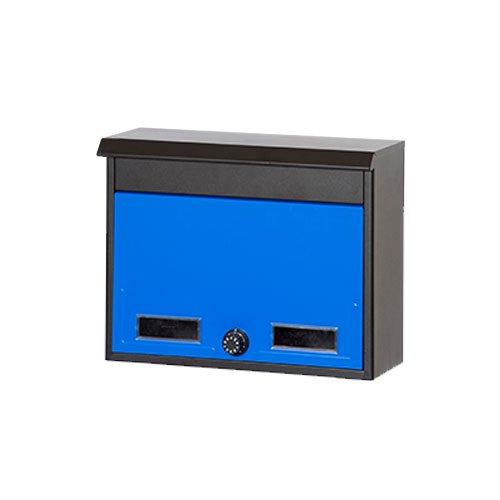 郵便ポスト 郵便受け 壁付けポスト スタイルポスト SG-2L イメージ:ブルー(BL)   B079ZS8X1D