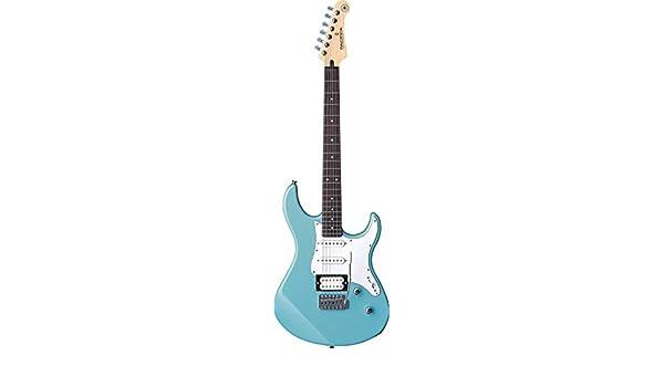 Yamaha Pacifica serie pac112j - Guitarra eléctrica, color negro ...