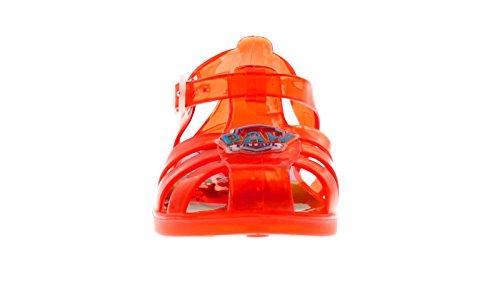 NUEVO youngers Niños/infantil rojo Patrulla Canina SENCILLOS / Off Gel Zapatos -rojo- GB Tallas 5-12