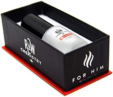 RawChemistry Cologne, for Him [Attention Formula] - Bold, Extra Strength Formula 1 oz.