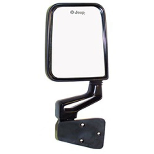 Crown Automotive 82201772 Black Right Side Mirror and Arm