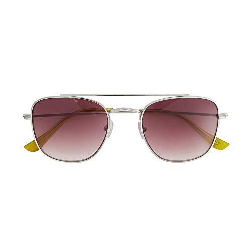 Sunglasses Femmes Lunettes Argenté Aviateur General Soleil De Parfois nqzwPBavP