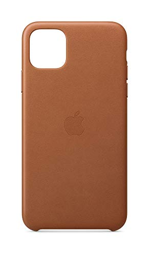 Apple Leather Case (for iPhone 11 Pro Max) - Saddle Brown